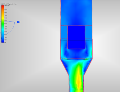 NLS Optimizes Expansion Chamber Using CFD